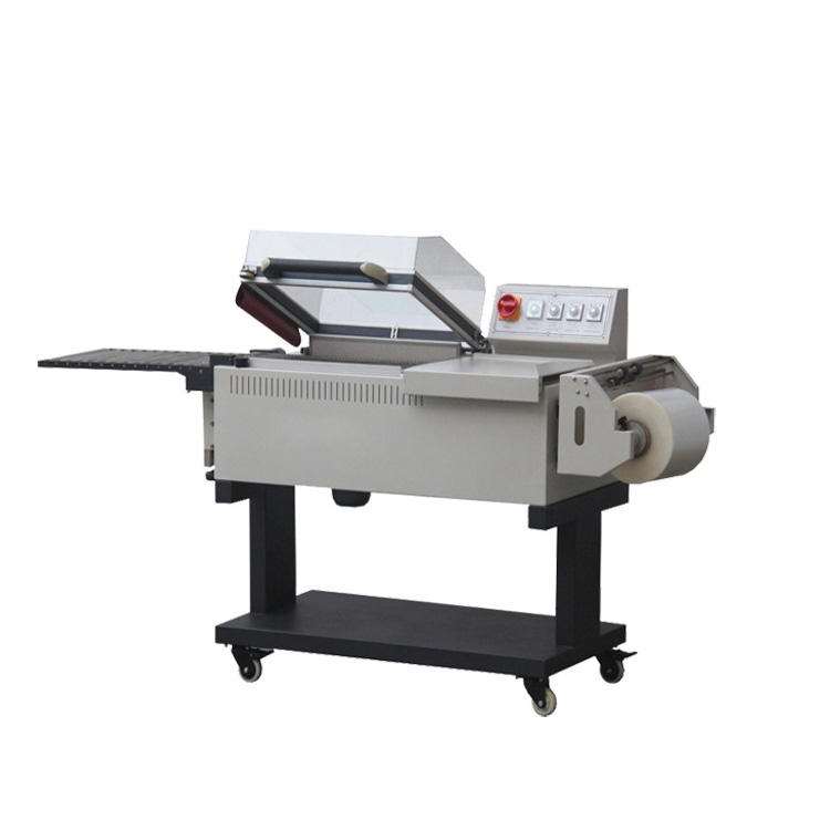2 in 1 automatic Box L-sealer mini heat shrink wrapping machine for sale