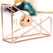 Wholesale Office teacher supplies Rose Gold Tape Dispenser