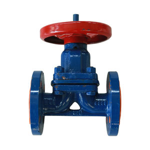 Corrosion resistant PTFE-lined diaphragm valve