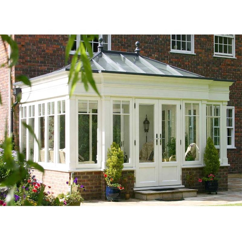prefabricated aluminum frame sunroom glass panels for sale glass conservatories house sunroom price conservatory