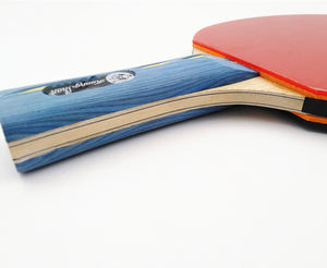Direct manufacturers selling professional table tennis rackets table tennis paddles pingpong bats 6 star