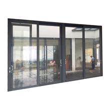 Extruded Aluminum Door Frame/Aluminum Residential Door Window 4 Panel Sliding Door