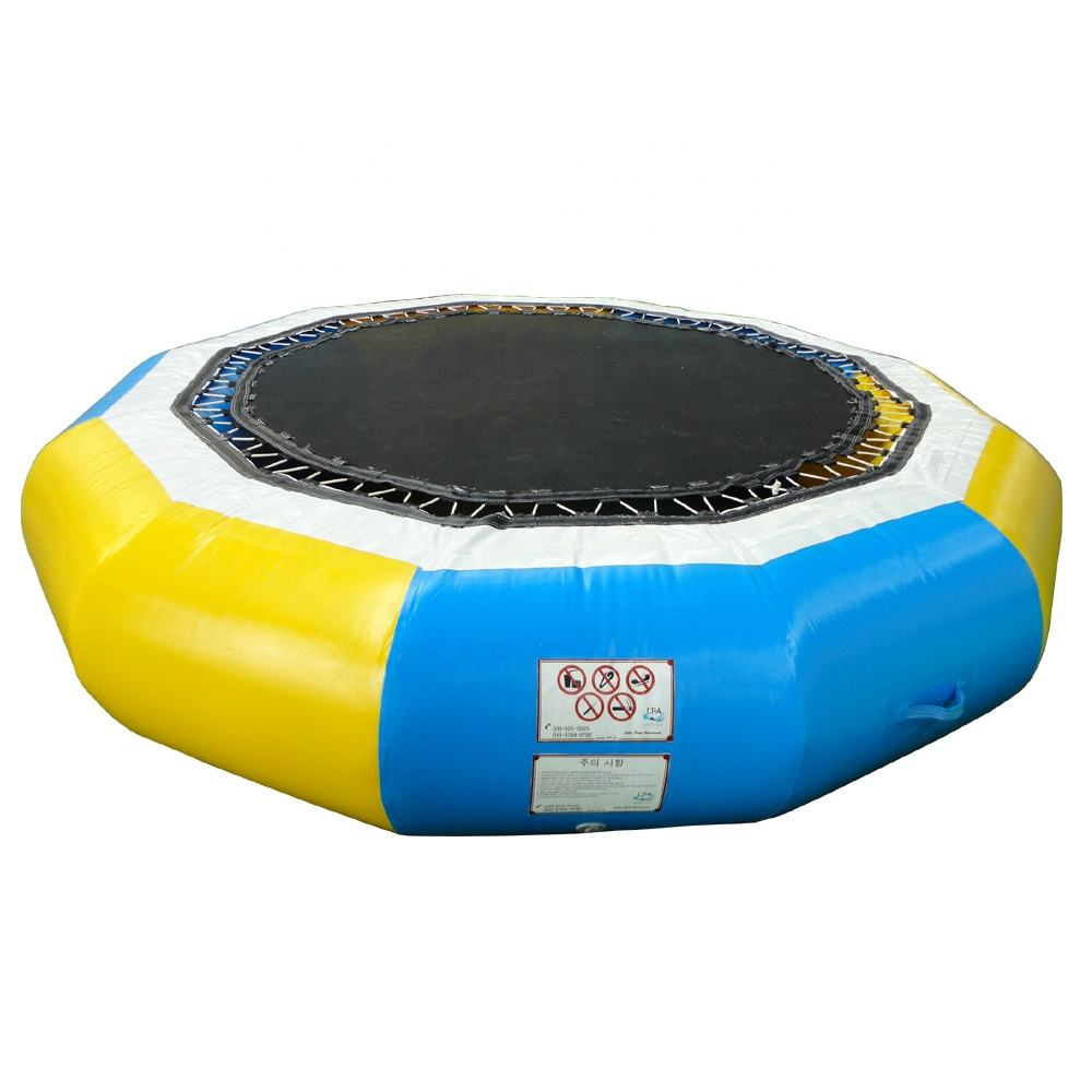 Summer floating toys Commercial inflatable floating water park trampoline for sale