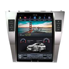 "Pure Tesla style 10.4"" Android Car NO DVD Player GPS Navigation Stereo In-dash for Toyota Camry Classic 2006-2011"