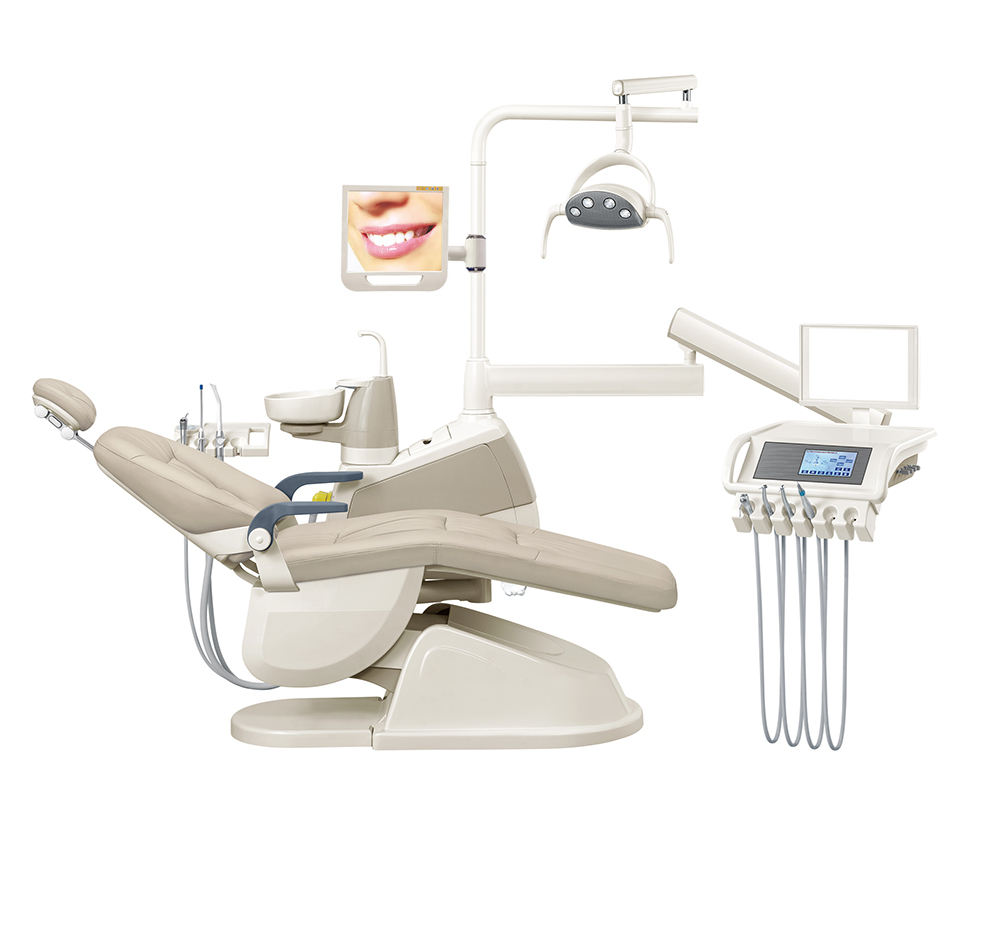 Gladent FDA goedgekeurd down-hang tandartsstoel sky tandartsstoel/nieuwe citizen dental supply dental stoelen/dental stoel made in usa