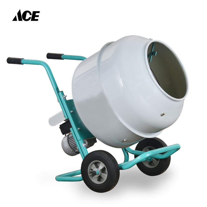 160L concrete cement mixer mortar portable electric concrete mixer