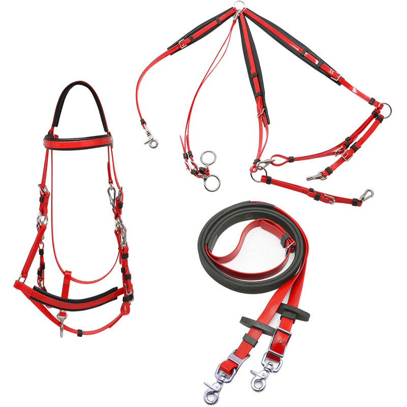 Wholesale Saddles And Tack Bridle Full Set For Endurance Horse Racing PVC