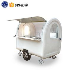 new style towable coffee cart bicycle small food truck for sale