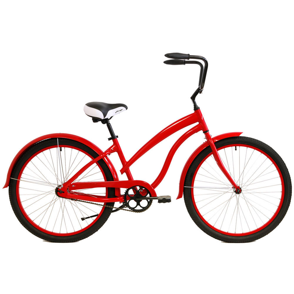 "26"" beach cruiser steel female bicycle / urban bikes / lady city bikes beach bicycle cruiser"