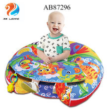 New Baby Products High Quality Wholesale Infant Sit up and  Lounger Play Nest Cotton Chair Folding Sofa Baby Seat with toys
