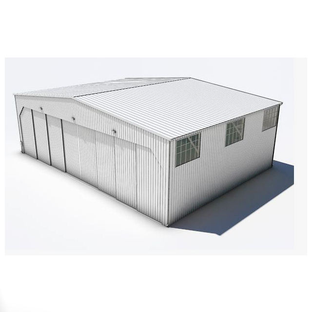 Prefabricated Steel warehouse / workshop / hangar / hall steel structure price workshop storage