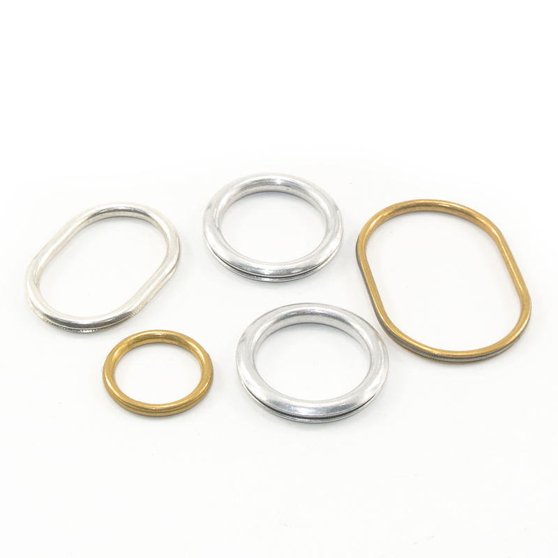 DLSEALS round closed metal o rings solid brass o ring copper o-ring
