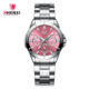 Chenxi 019A Lovely New Design Fashion Girls Watchchrono Diamond Stainless Steel Silver Wrist Watches For Women