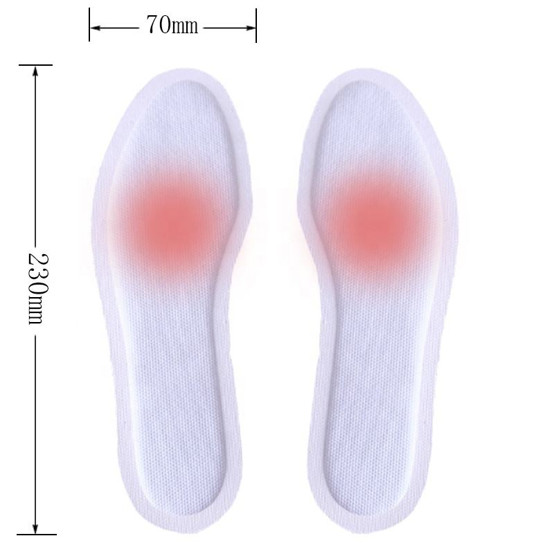 Hot sale foot fever shoes warmer heat pad foot warmer patch / warm foot pads