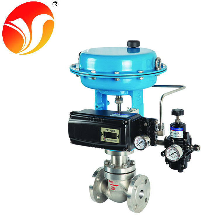 penumatic 2 way single seat control valve