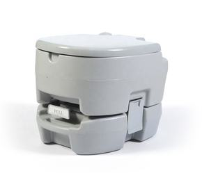 12L Amazon Ins Hot selling plastic light grey camping outdoor mobile toilet for sales