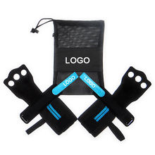 Weight Lifting Leather Hand Grips Cross Training Strength Grips