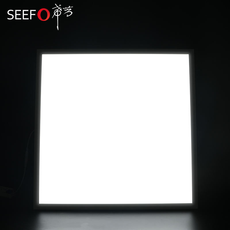 White Frame Suspended Ceiling Recessed Modern LED Panel Lighting 600x600 595x595