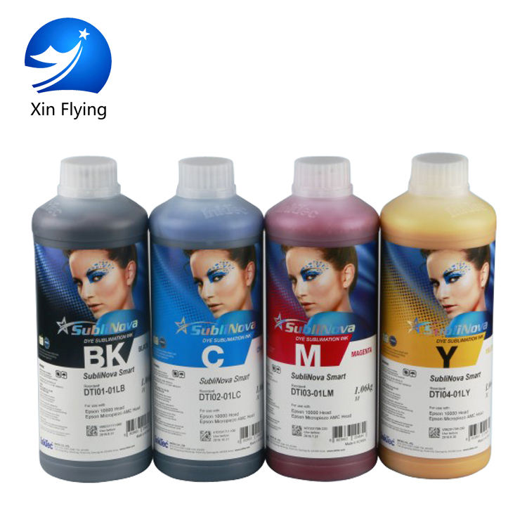 Korea inktec sublinova used on textile Sublimation Ink