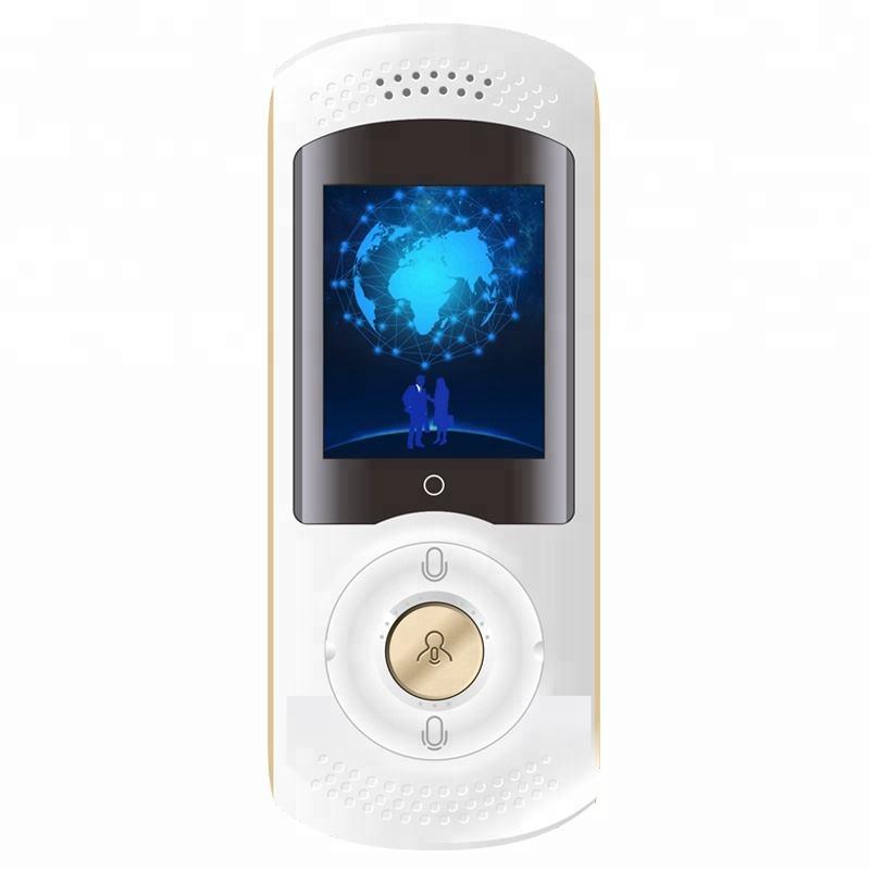 Populaire Smart portable traducteur vocal avec 40 langues pour les entreprises, la vie et voyage