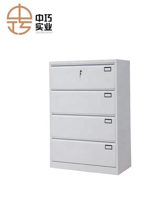 4 drawer steel filing cabinet office wide drawer cabinet