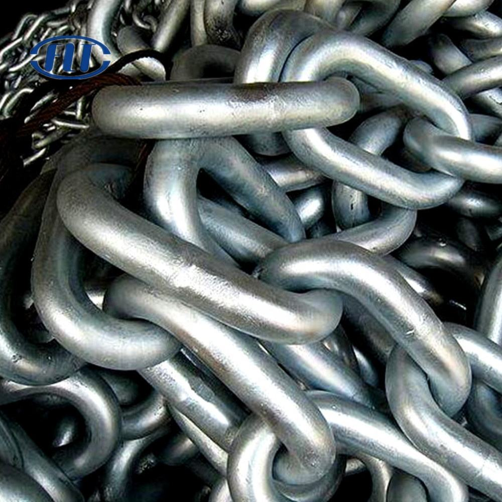 GRADE U1,U2,U3 USED SHIP ANCHOR CHAIN UNSTUD LINK MOORING CHAIN 12.5MM FOR SALE