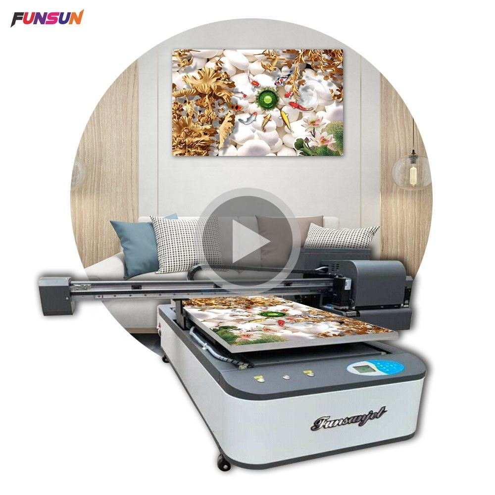 9060 uv digital flatbed printer with dx8 head for wood,plastic,phone case,metal,pens,golf ball