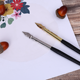 Multi-color Comic wooden pen,calligraphy fountain pen