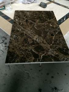 Spanish emperador dark marble flooring tile
