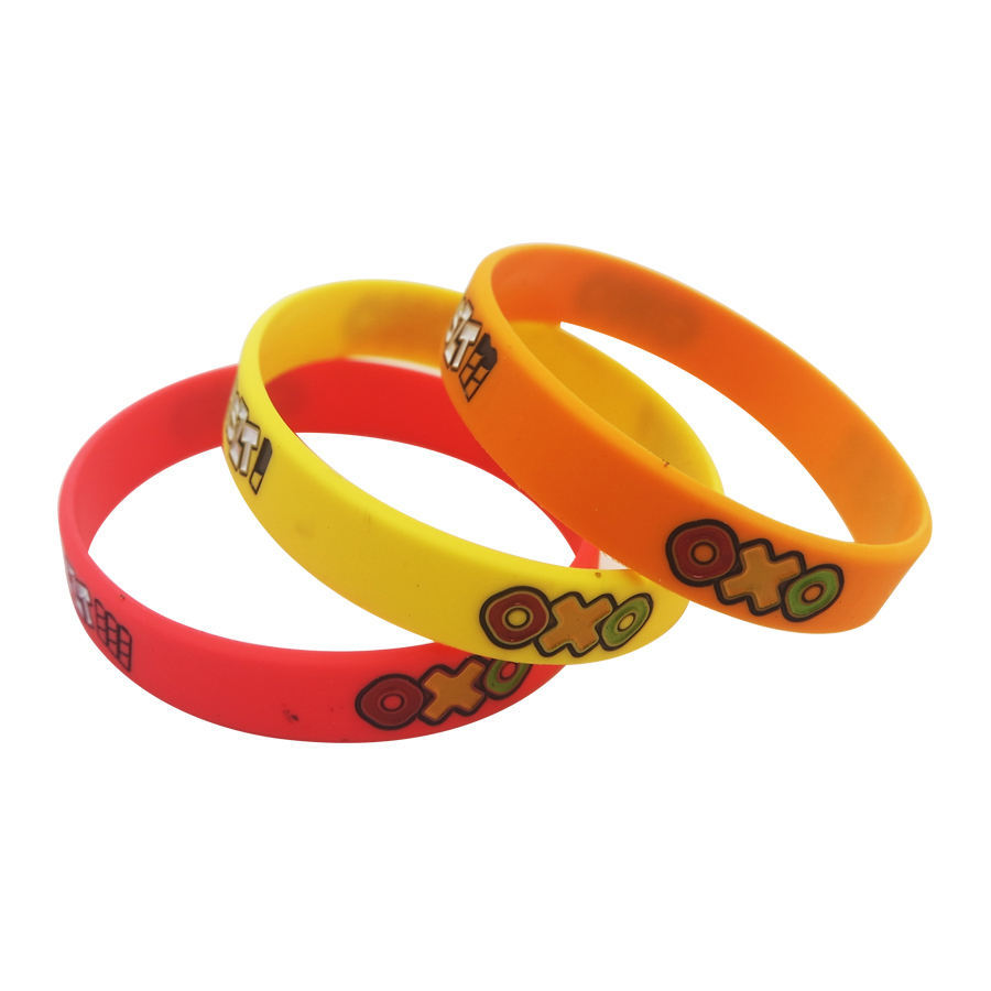 custom logo debossed bands paw silicone bracelets rubber wrist bands armbands