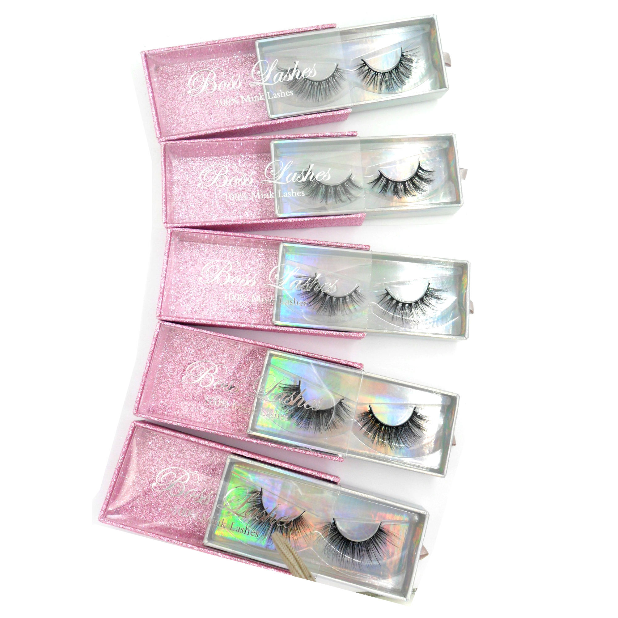 Baiside eyelashes 3d mink eyelashes faux lashes false eyelashes manufacturer
