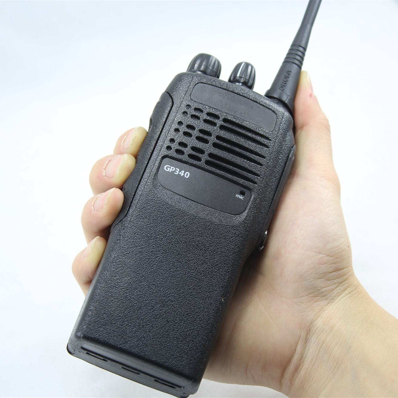 VHF UHF GP-340 Walkie Talkie 16CH GP340 untuk Motorola 2 Way <span class=keywords><strong>Radio</strong></span>
