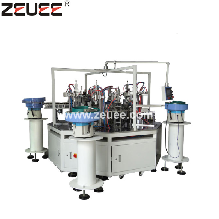 China nonstandard custom plastic trigger sprayer nozzle automatic assembly machine