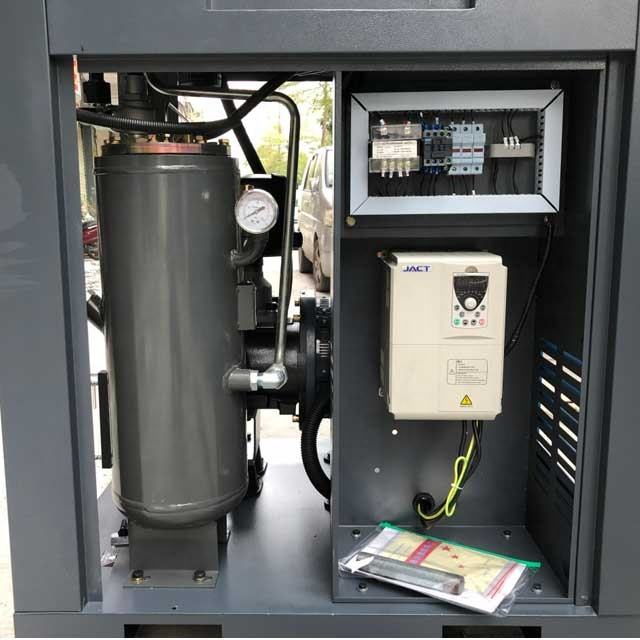 best price quiet rotary screw industrial air compressor for factory