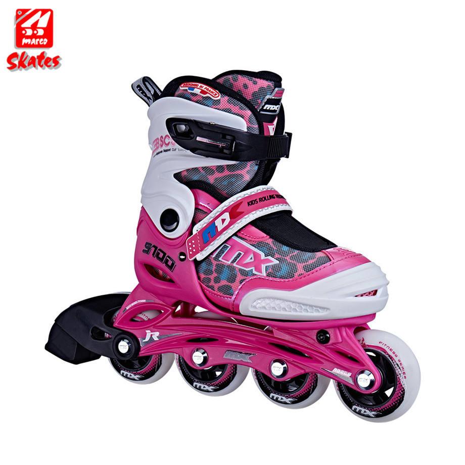 Slalom Inline Skate Pu Räder Roller Schuh 4 Quad Baby Mädchen Schuhe Für Skates