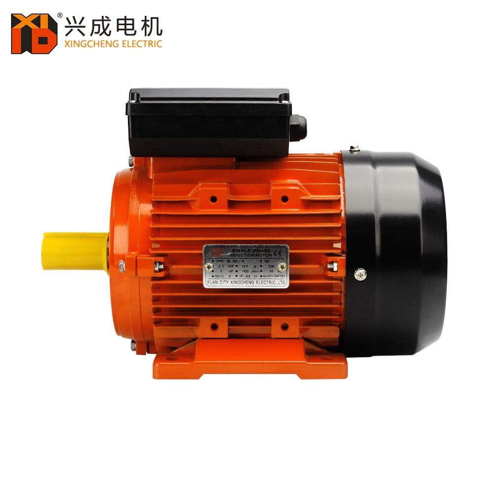 Single Phase Electric Motor 0.55 kW 2-pole 3000 rpm Capacitor Start 50 Hz 230 V