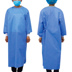 sterile SMS reinforced surgical gown medical clothing for hospital