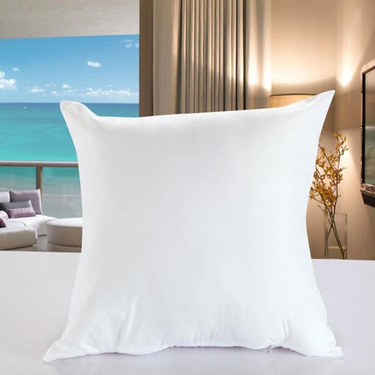 Commercio all'ingrosso di alta qualità comodo puffy bianco tiro cuscino del divano cuscino
