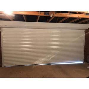 Cheap Automatic Motor Aluminum Alloy Roller Shutter Doors Interior Swinging Rolling Roll Up Down Security Garage Door
