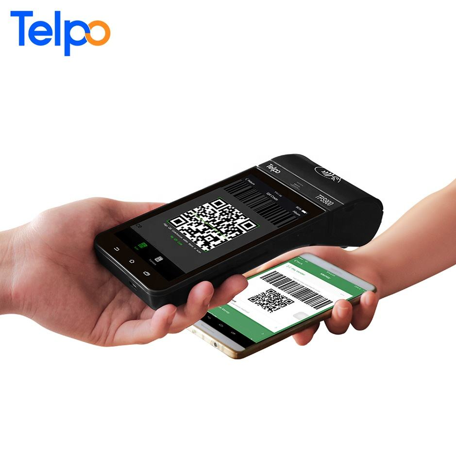 TPS900 etr machines cash collect machine Id card scanner
