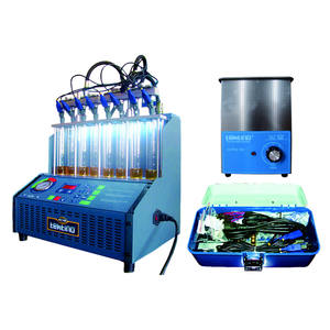 8 injectors ultrasonic fuel injector cleanning testing machine 110V 220V for automotives with gasoline engines