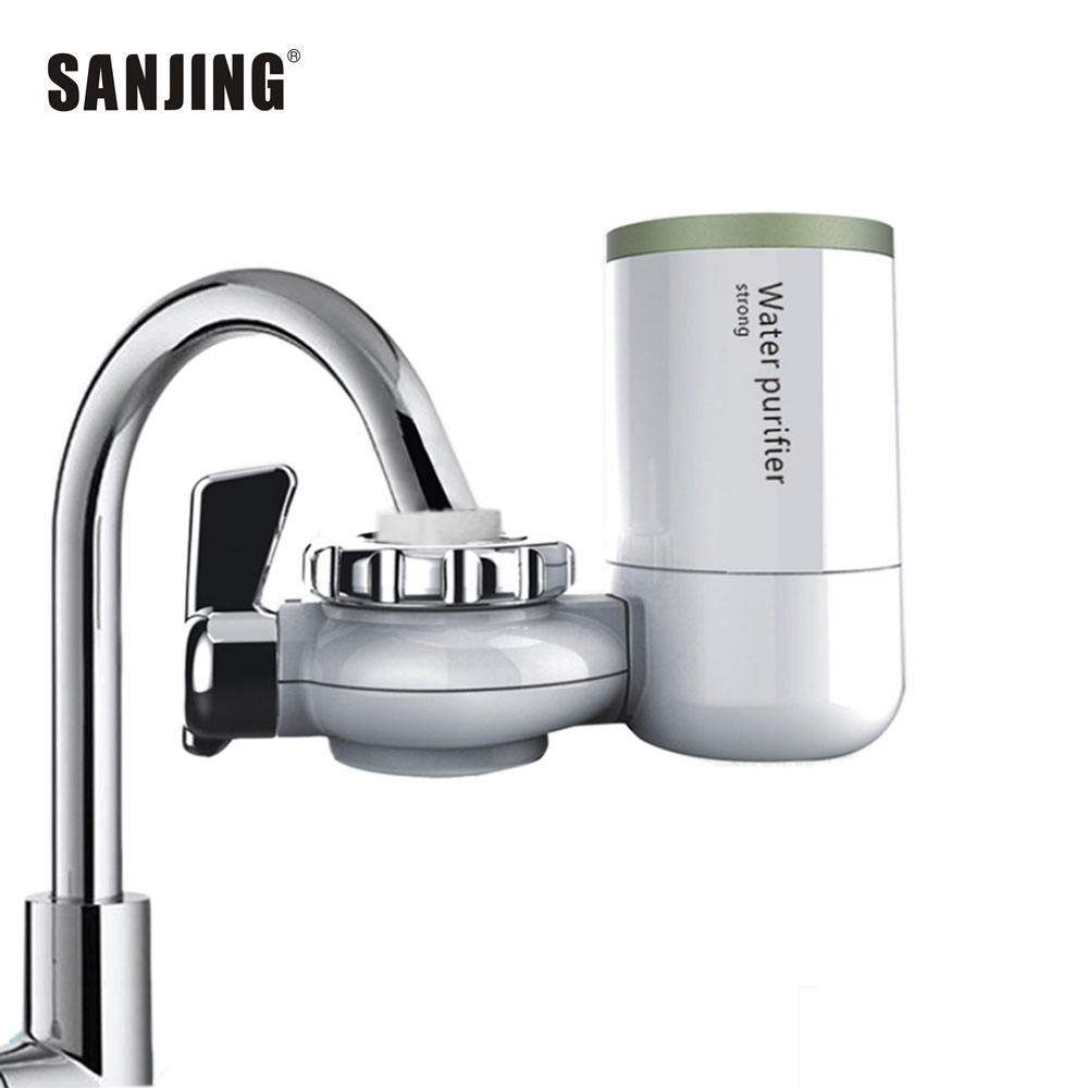 Tap filter water purifier water filter system with ceramic cartridge