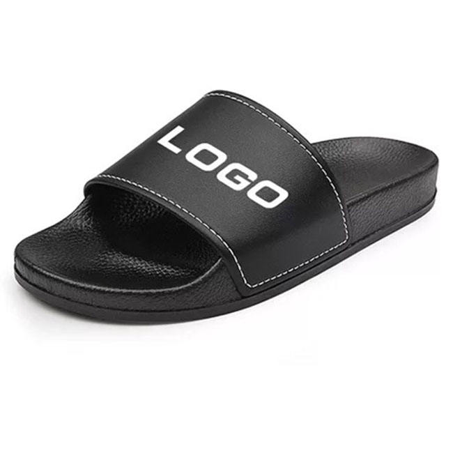 2019 PVC Sliders Slippers For Men Custom Logo,Sandal Mens Custom Slides Footwear Shoes,Custom Logo Blank Slide Sandals Men