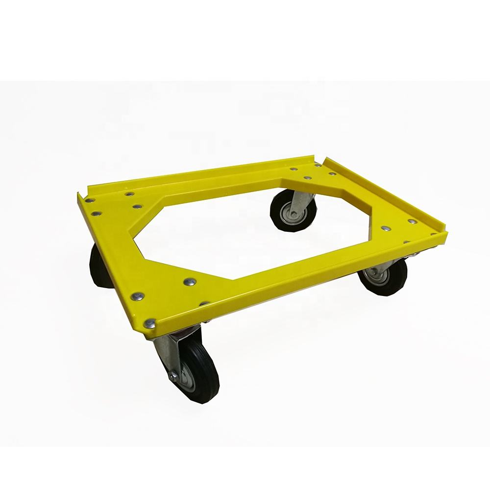 New Design Colorful Moving Plastic Dolly