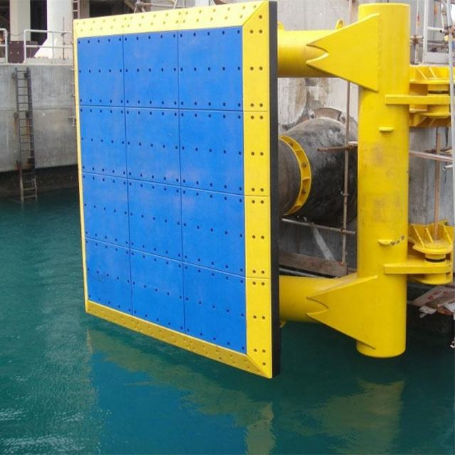 high quality hdpe high-density uhmwpe marine dock block