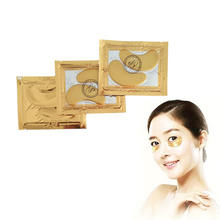 Remove dark circles increase eye energy 24K gold collagen crystal eye bag mask