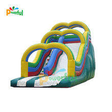 water play equipment giant inflatable water slide for adult
