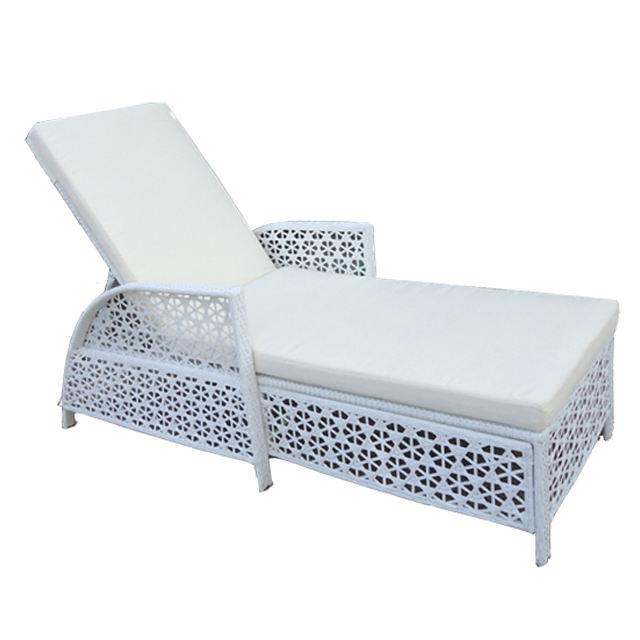 Étanche À l'eau Meubles En Rotin Moderne Sexe Chaise longue Chaises de Plage