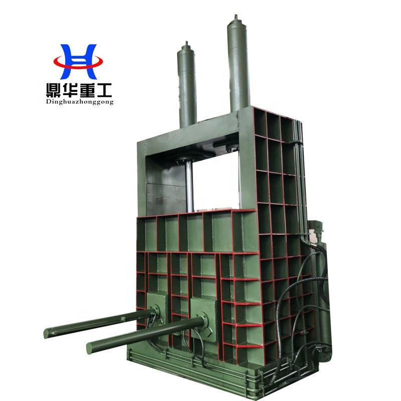Waste Paper Baling Press Machine Vertical Hydraulic Plastic Scrap Baler for Factory Manufacturer