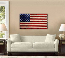 American Flag Design Wood Wall Mounted Decoration board panel